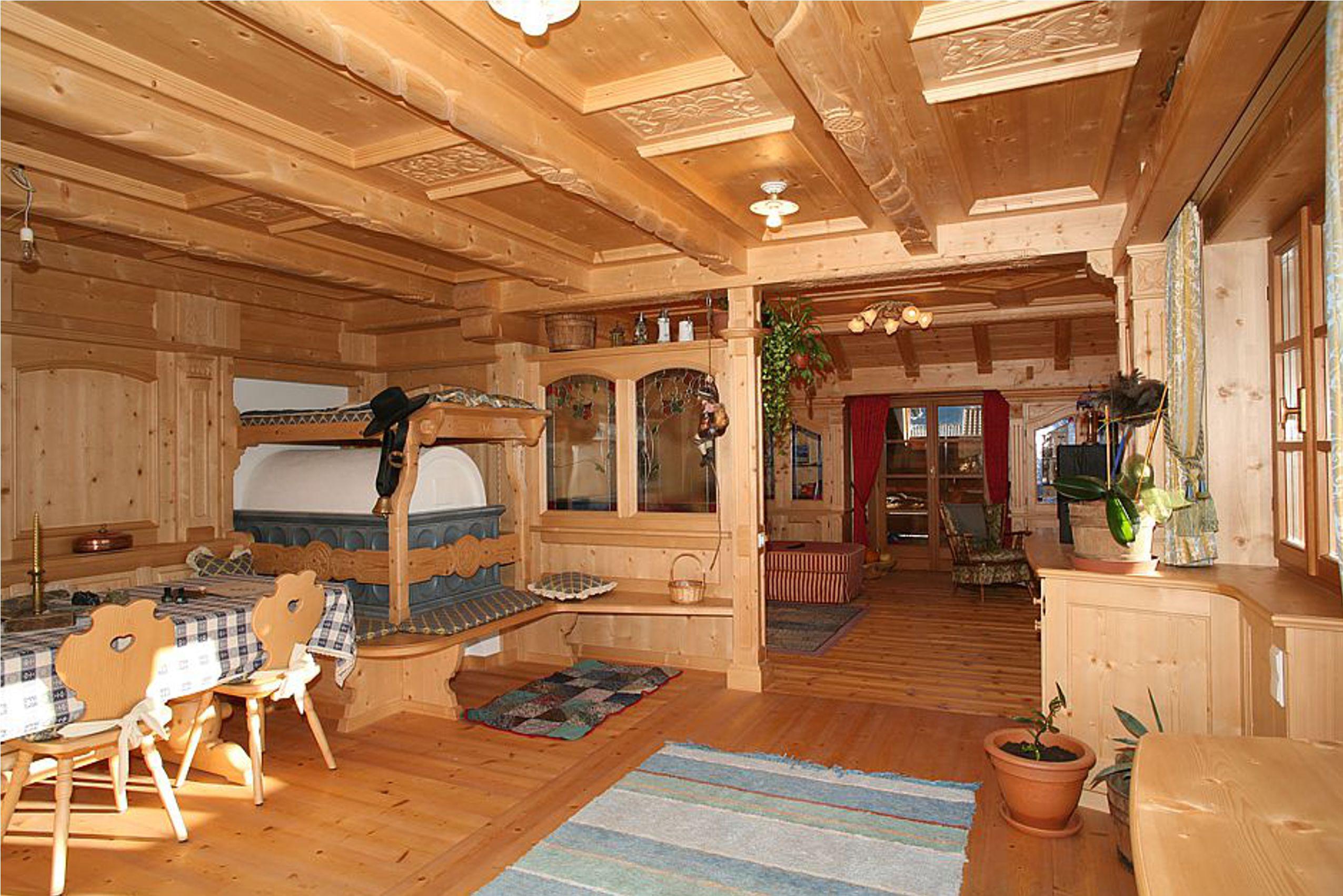 Boiserie per case di montagna e chalet for Arredamenti per case di montagna